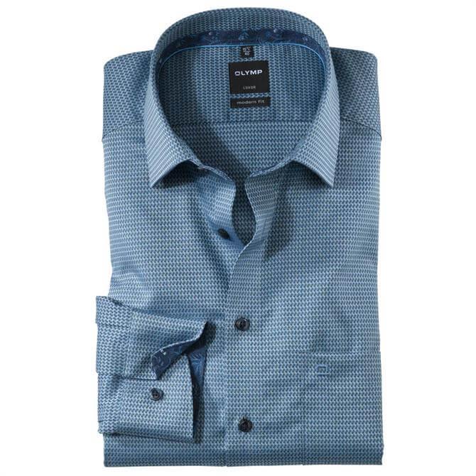 OLYMP Luxor Shirt - Marine