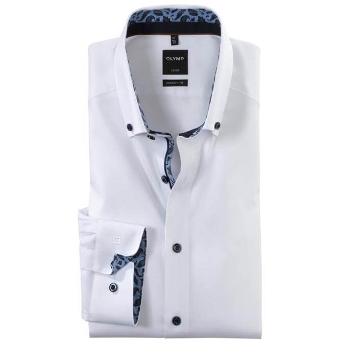 OLYMP Luxor Shirt - White