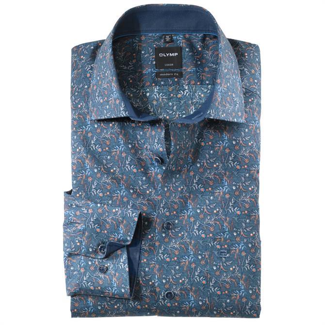 OLYMP Luxor Shirt - Rust
