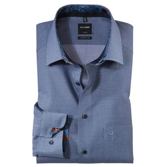 OLYMP Luxor Business Shirt - Marine