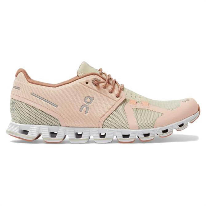 On Cloud Women's Running Shoes - Rose/Sand