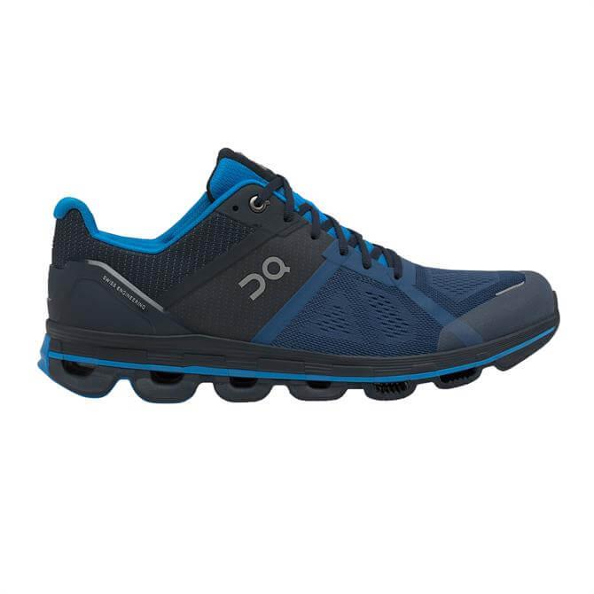 On Running Men's Cloudace Running Shoe - Navy/Malibu