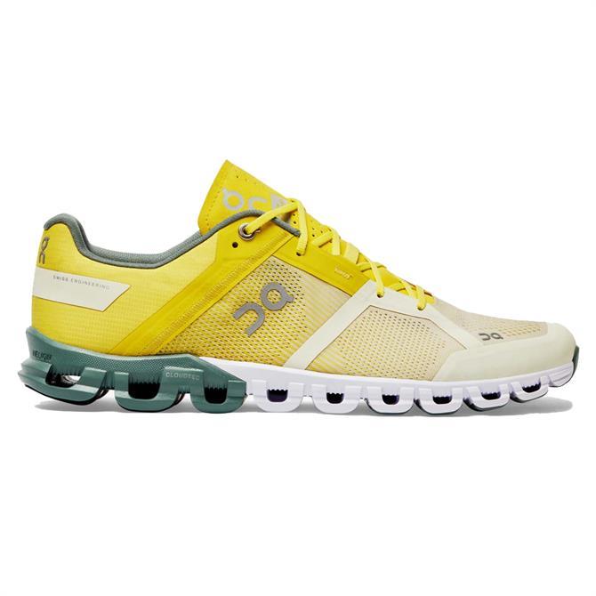 On Cloudflow Men's Running Shoe - Citrus/Sea