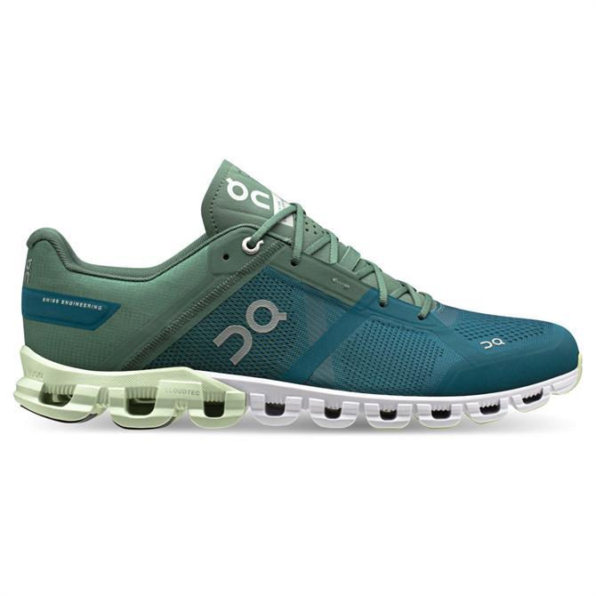 On Cloudflow Men's Running Shoes - Sea & Petrol