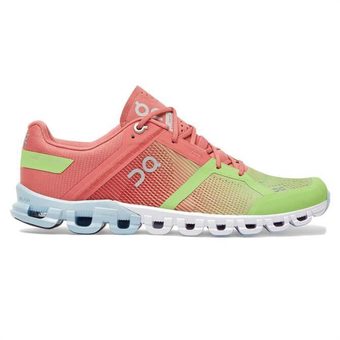 On Cloudflow Women's Running Shoe - Guava/Dustrose