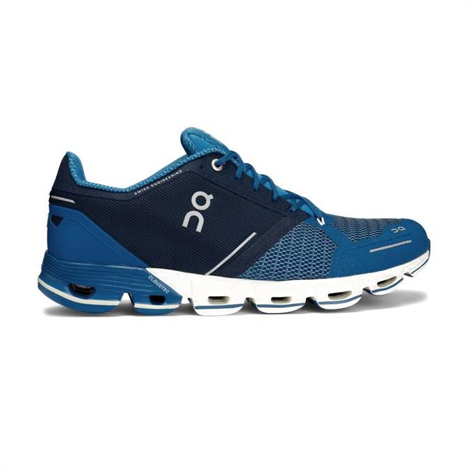 On Running Men's Cloudflyer Running Shoe - Blue/White