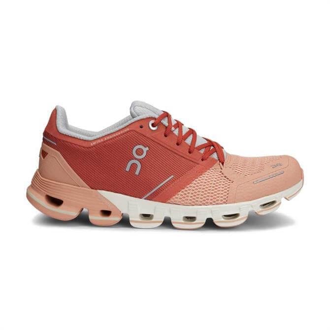 On Cloudflyer Women's Running Shoe - Ginger/White