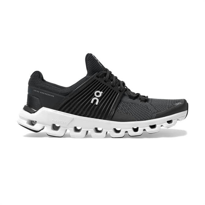 On Cloudswift Men's Running Shoe - Black/Rock