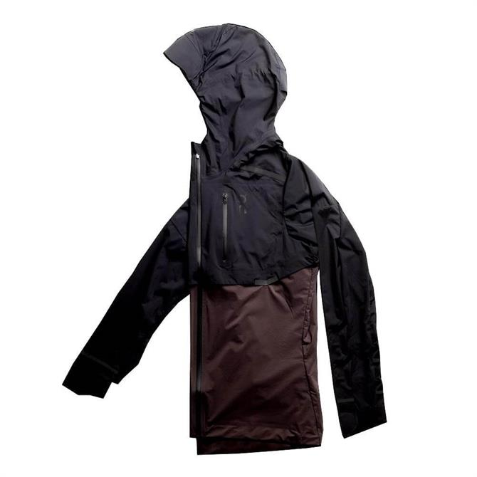 On Women's Weather Jacket - Black/Pebble