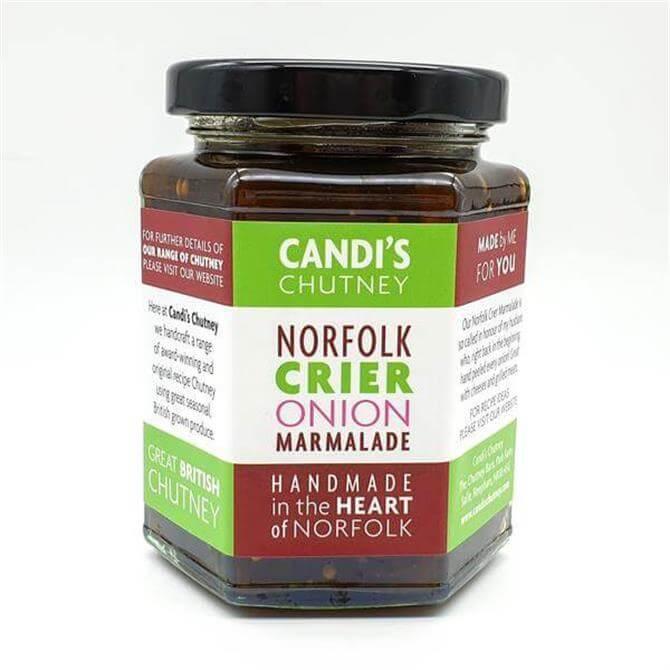 Candi's Norfolk Crier Onion Marmalade 284g