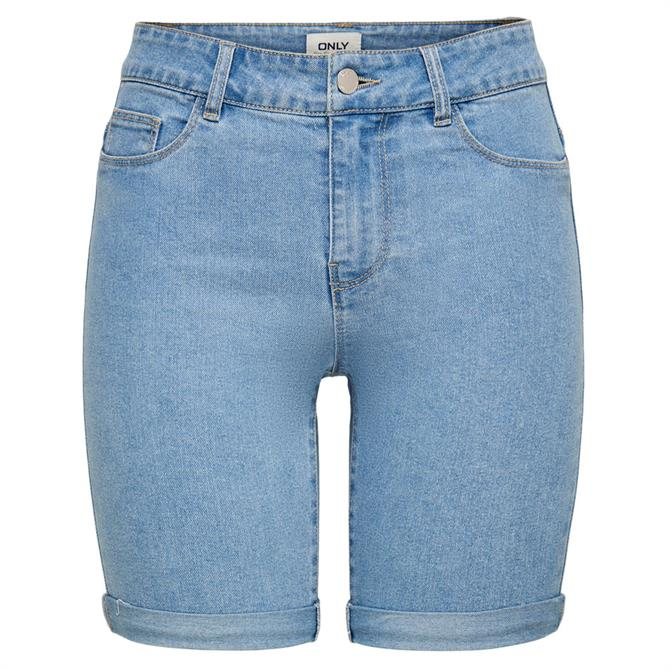 Only Sun Anne Long Denim Shorts
