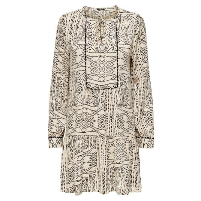 Only Noemi Patterned Short Tunic Dress