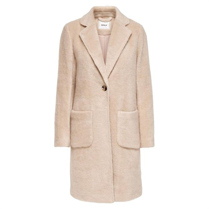 Only Claire Soft Faux Fur Coat