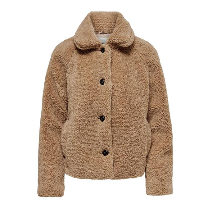Only Emily Short Teddy Jacket
