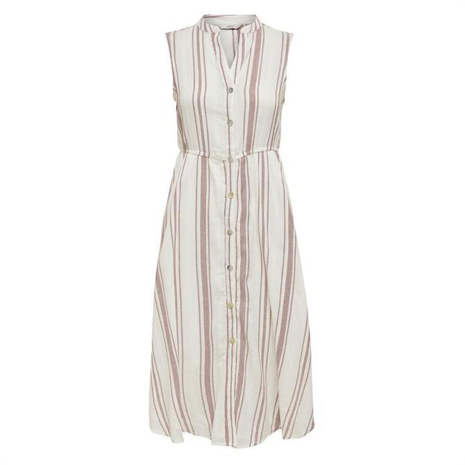 Only Dorrie Striped Sleeveless Dress