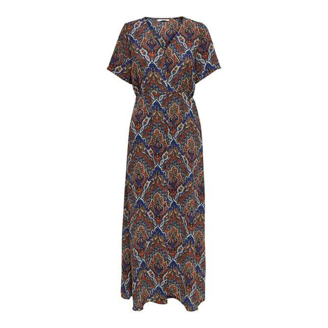 Only Hanna Paisley Print Maxi Dress