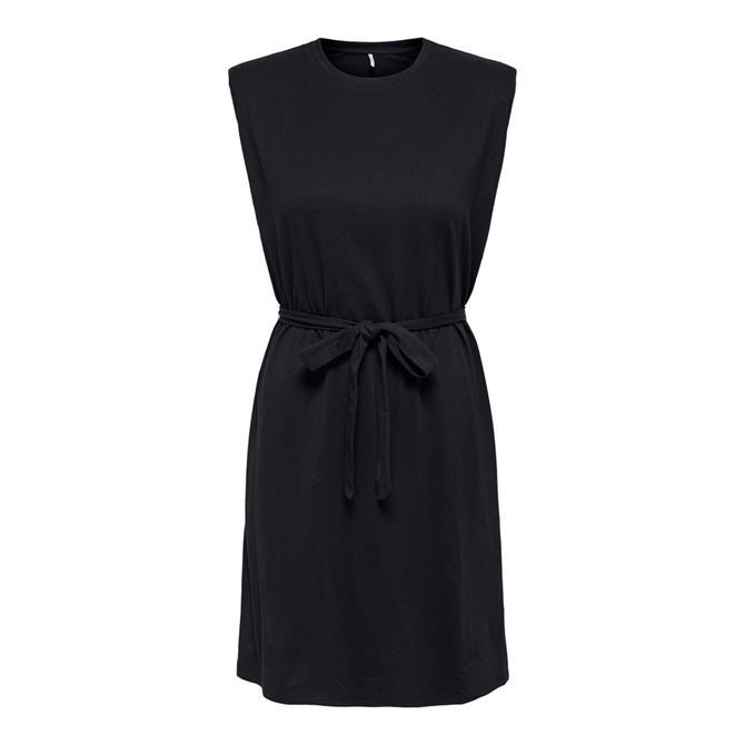 Only Belt Sleeveless Dress