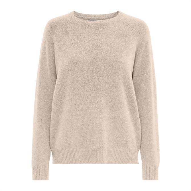 Only Lesley Plain Round Neck Sweater