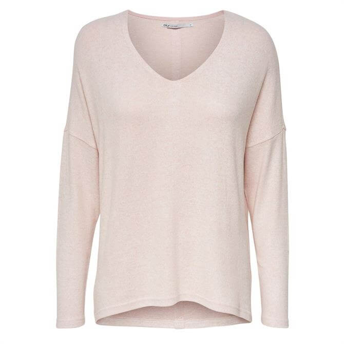 Only Maye Button Back Pullover