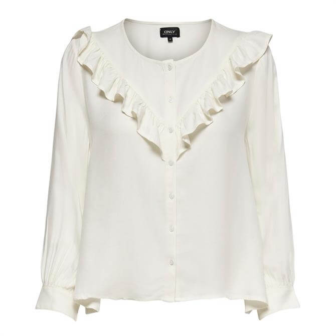 Only Mercy Ruffle Blouse