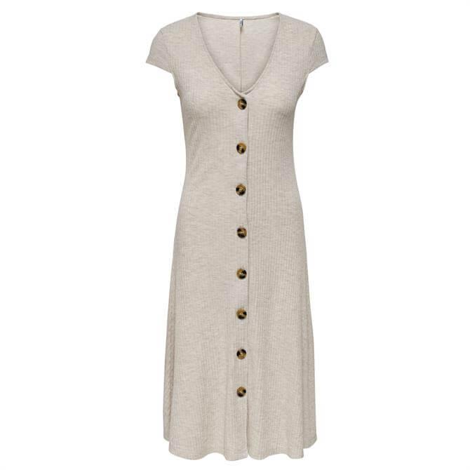 Only Nella Button-Up Midi Dress