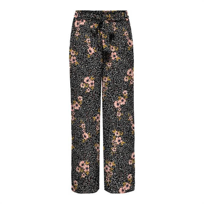 Only Nova Life Floral Bouquet Palazzo Trouser