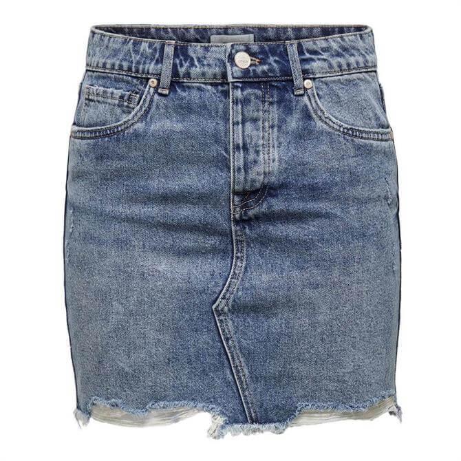 Only Sky Denim Skirt