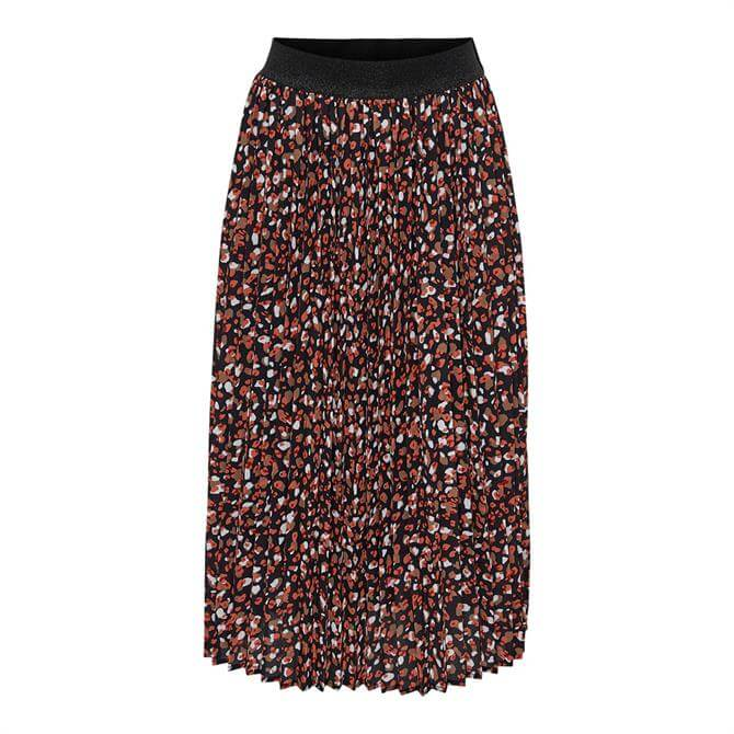 Only Sunny Patterned Plisse Skirt