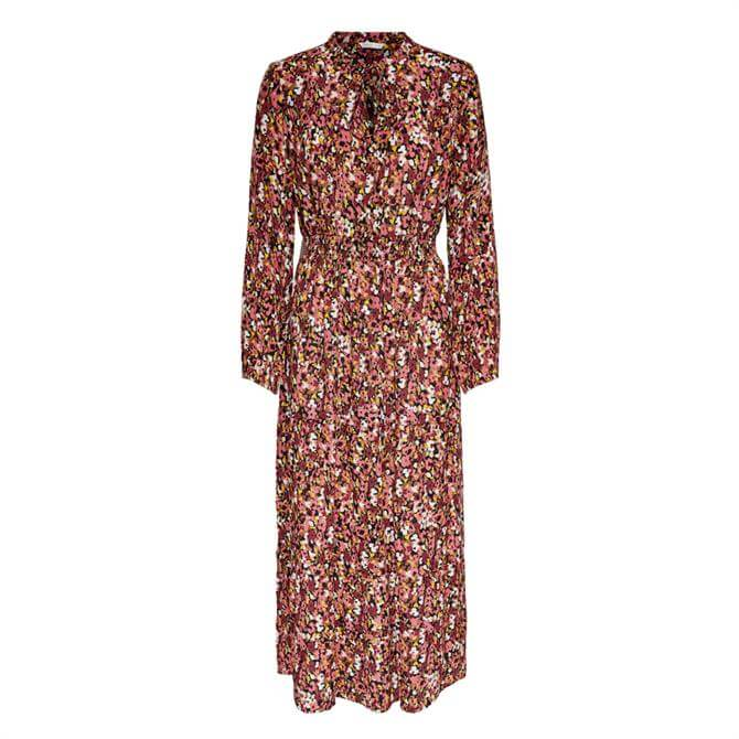 Only Vick Floral Print Maxi Dress