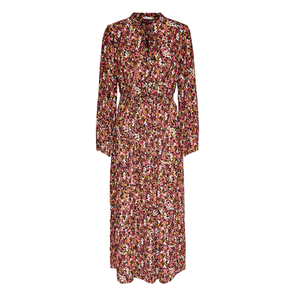 An image of Only Vick Floral Print Maxi Dress - M, BLACK