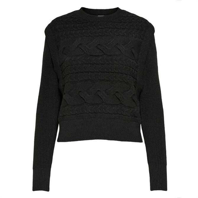 Only Vicky Textured Cable Knit Jumper