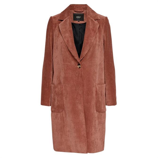 Only Astrid Corduroy Coat