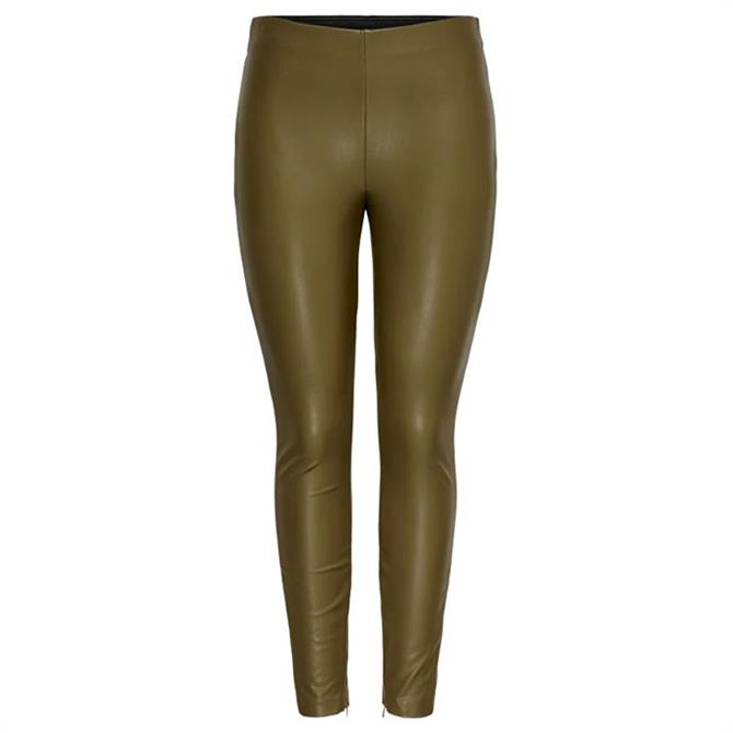 Only Leather Look Vivi Legging