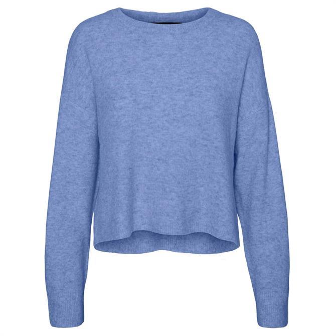 Vero Moda Plaza Boxy Round Neck Sweater