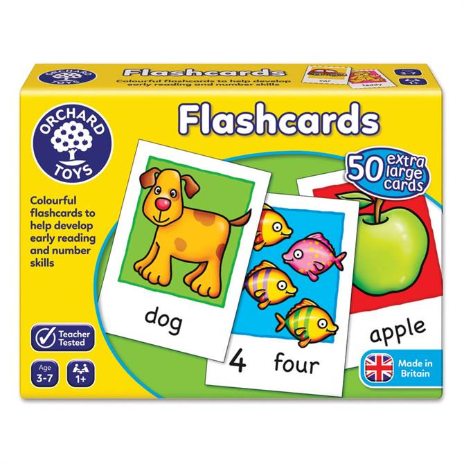 Orchard Toys Early Learning Flashcards