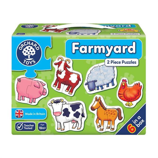 Orchard Toys Farmyard Puzzles Set