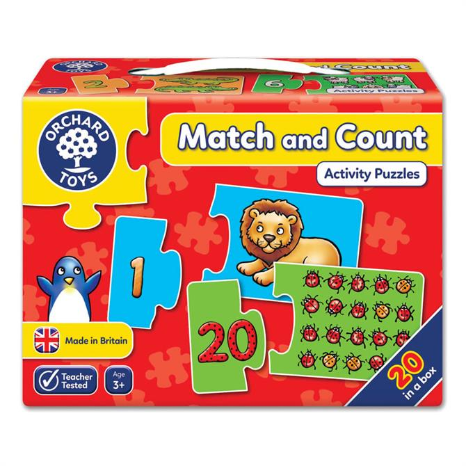 Orchard Toys Match & Count Activity Puzzles