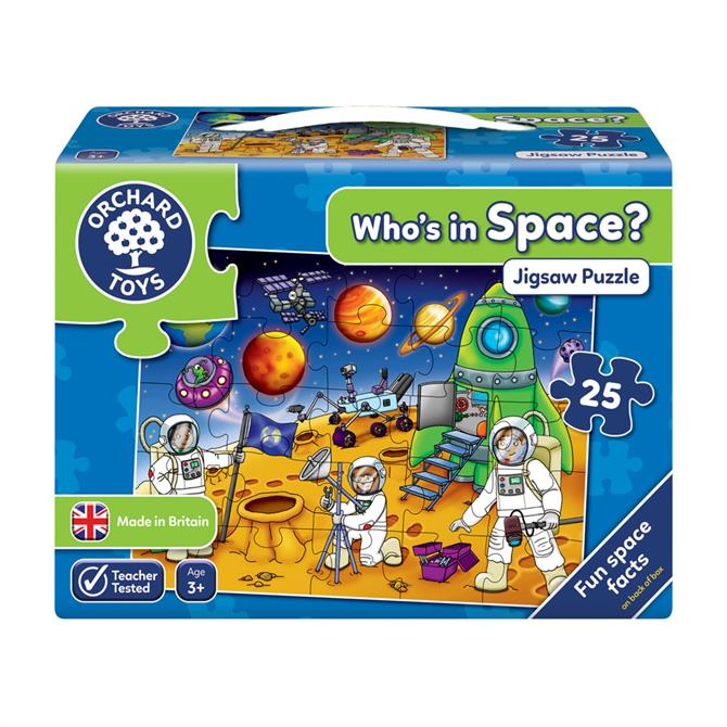 Orchard Toys Who's in Space? Puzzle