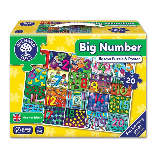 Orchard Toys Big Number Jigsaw Puzzle