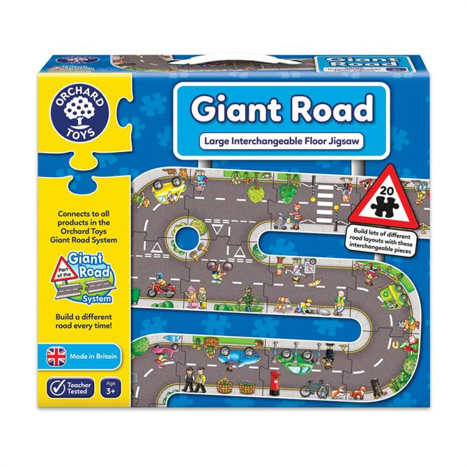 Orchard Toys Giant Road Floor Jigsaw Puzzle
