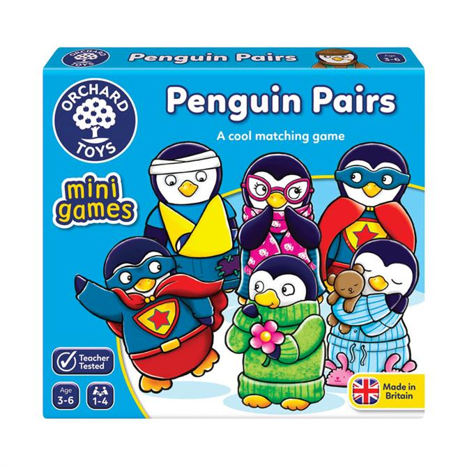 Orchard Toys Penguin Pairs Game