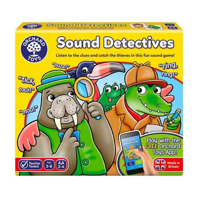 Orchard Toys Sound Detectives Game