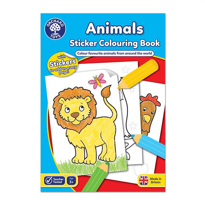 Orchard Toys Animals Colouring Book