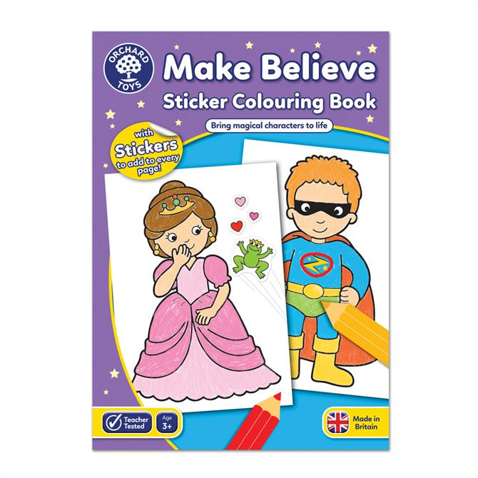 Orchard Toys Make Believe Colouring Book