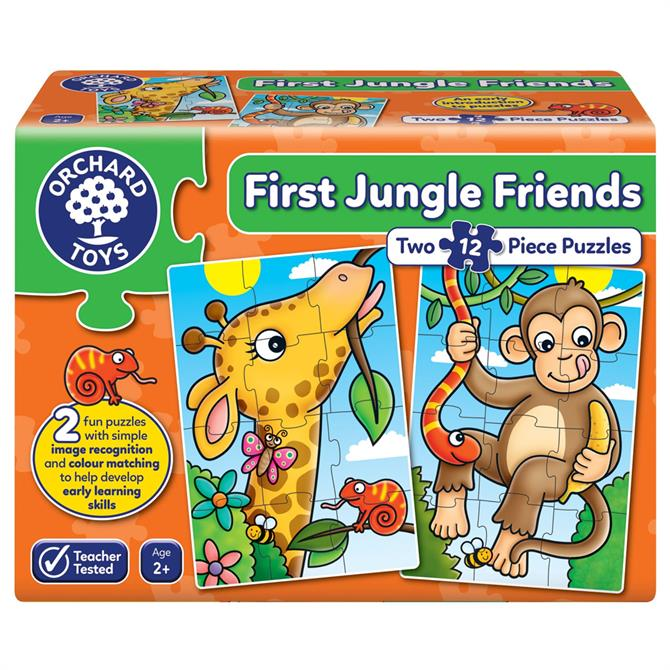 Orchand First Jungle Friends
