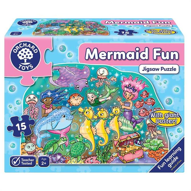 Orchand Mermaid Fun Jigsaw Puzzle