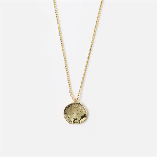 Orelia London Jewellery Golden Mini Coin Ditsy Necklace