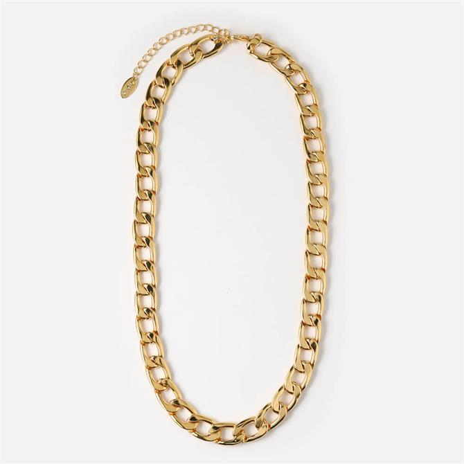 Orelia London Jewellery Gold Chunky Chain Gold Necklace