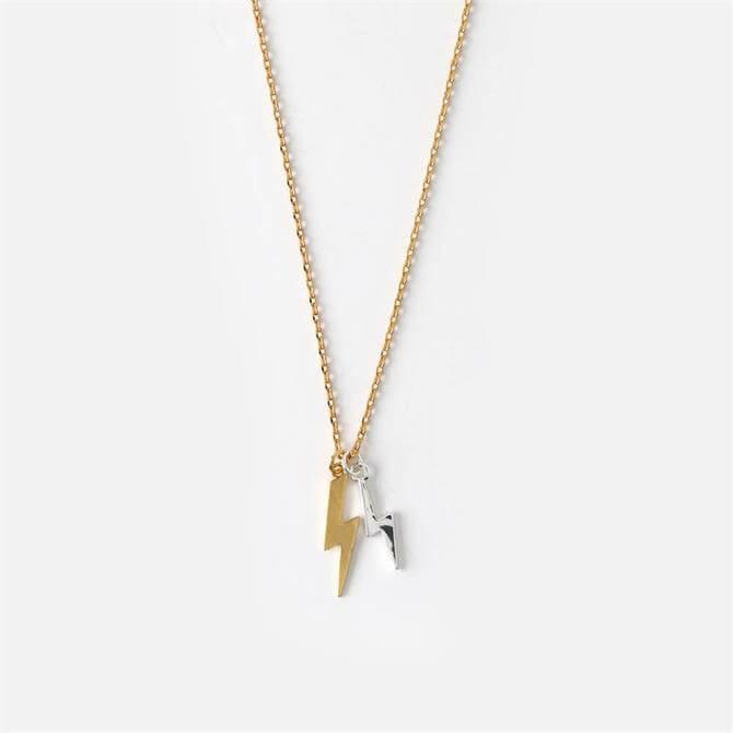 Orelia London Jewellery Double Lightening Ditsy Necklace