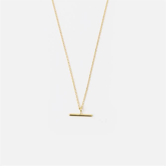 Orelia London Jewellery T-Bar Ditsy Charm Necklace